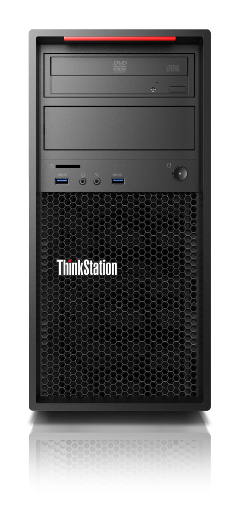LENOVO 30BH0003GE THINKSTATION P320 3.6GHZ I7-7700 TOWER BLACK WORKSTATION