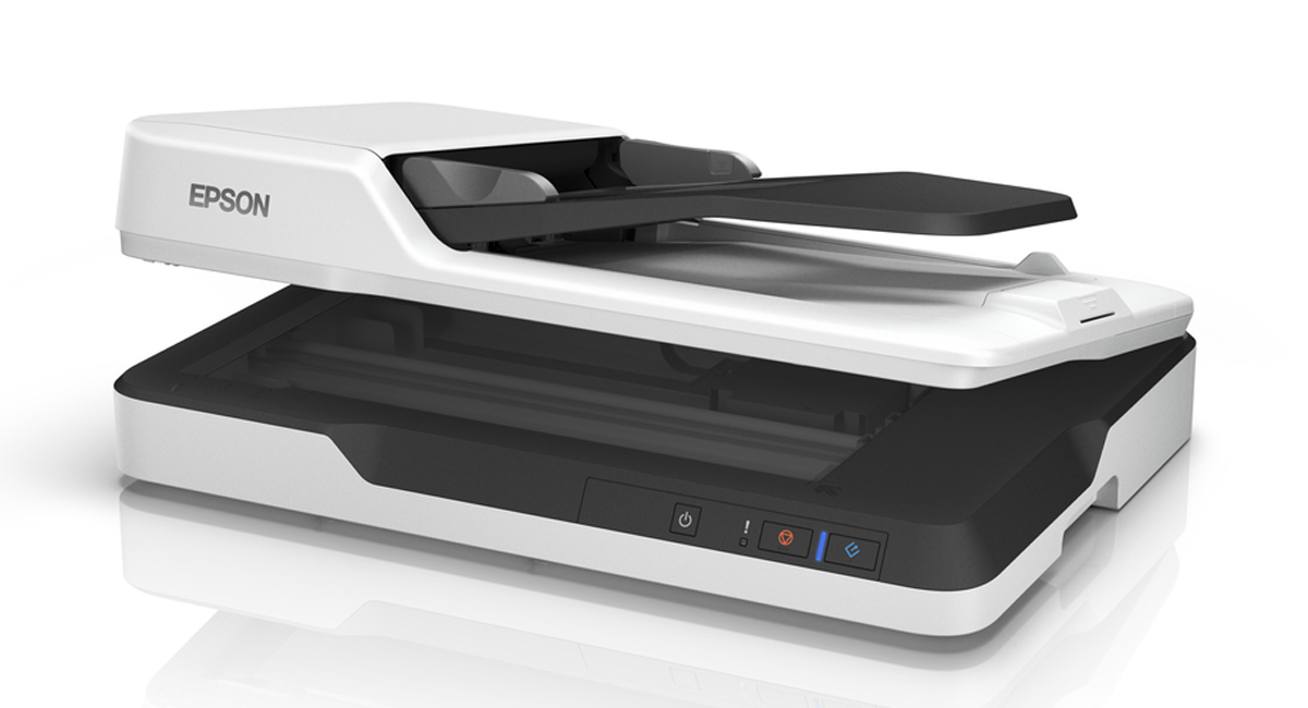 EPSON WORKFORCE DS-1630 FLATBED SCANNER 1200 X 1200DPI A4 BLACK,WHITE