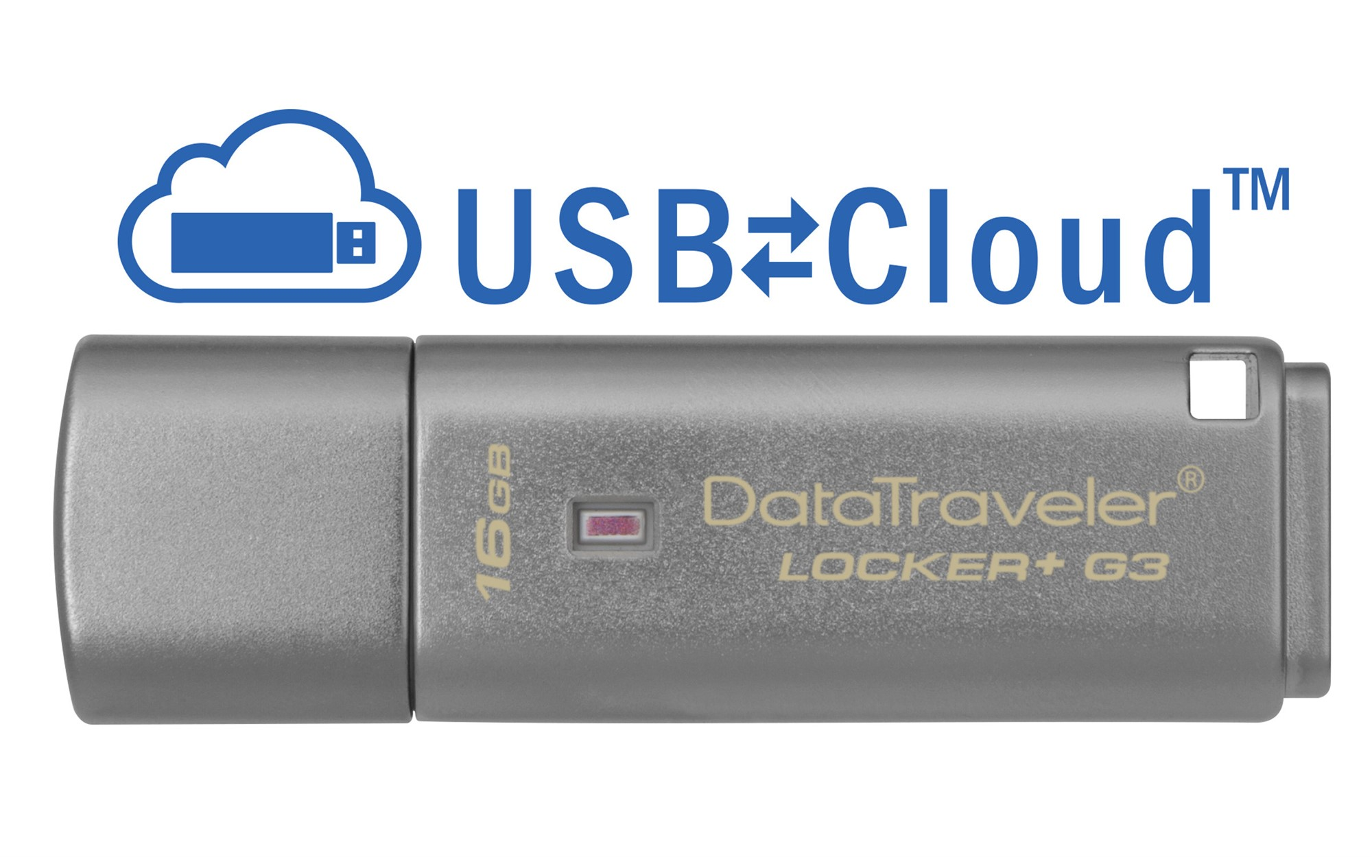 KINGSTON TECHNOLOGY DATATRAVELER LOCKER+ G3 16GB USB 3.0 (3.1 GEN 1) TYPE-A CONNECTOR SILVER FLASH DRIVE