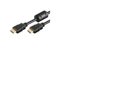 MICROCONNECT HDM19195V1.4FC 5M HDMI BLACK CABLE