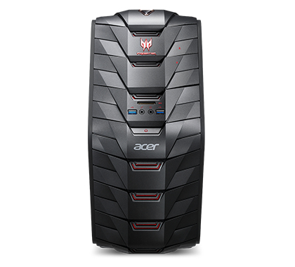 ACER PREDATOR G3-710 3GHZ I5-7400 DESKTOP BLACK PC