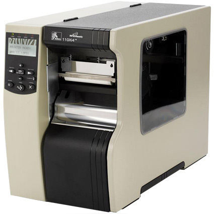 ZEBRA 110XI4 THERMAL TRANS 203 X 203DPI LABEL PRINTER