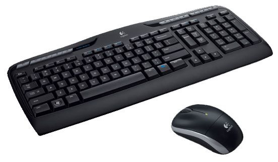 LOGITECH MK330 RF WIRELESS QWERTZ GERMAN BLACK