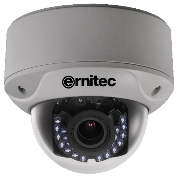 ERNITEC 0017-06330 CMOS, 1.27 MP, 1305 X 977PX, 40M IR, 124.2X145.3MM, 1.3KG, BLACK - WHITE