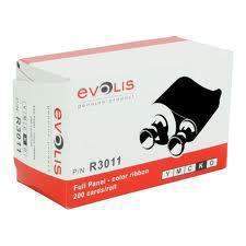 EVOLIS R3011 - YMCKO COLOR RIBBON