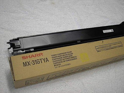 SHARP MX-31GTYA TONER YELLOW, 15K PAGES