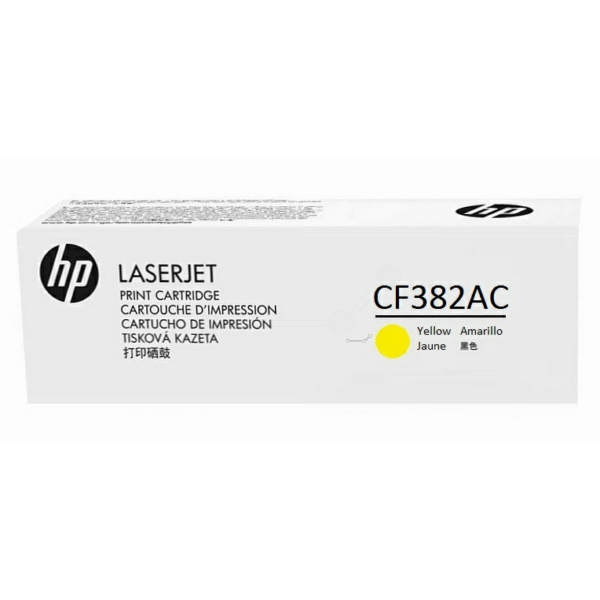 HP CF382AC (312A) TONER YELLOW, 2.7K PAGES