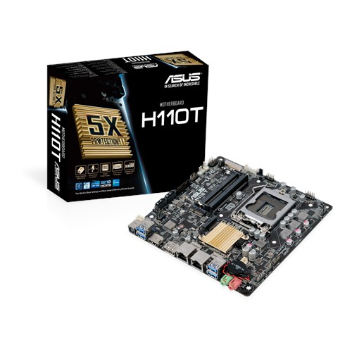 ASUS H110T INTEL H110 LGA 1151 (SOCKET H4) MINI ITX