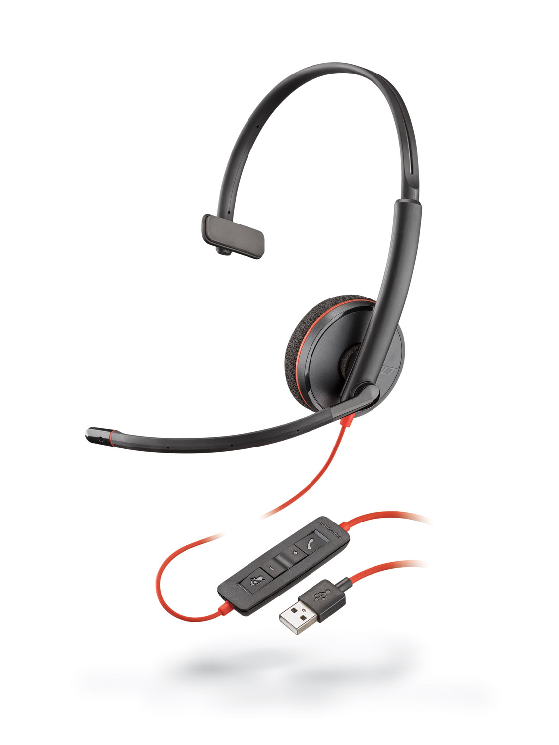 PLANTRONICS 209744-101 USB, HEAD-BAND, A2DP, 20 - 2000HZ