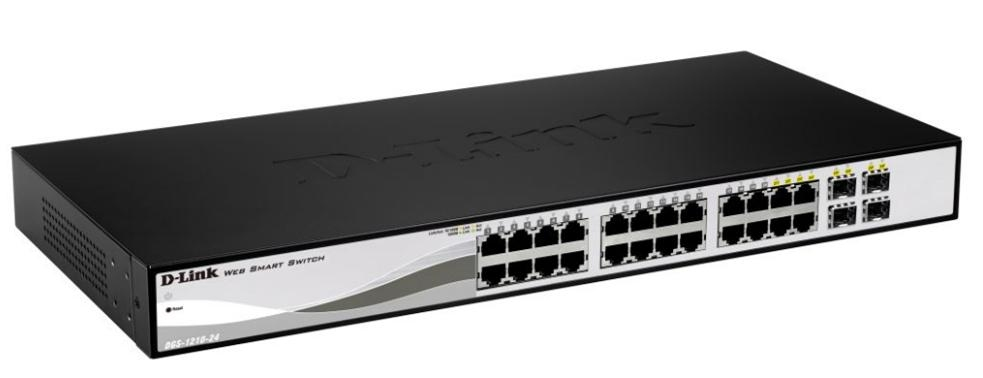 D-LINK DGS-1210-24 MANAGED NETWORK SWITCH L2 BLACK