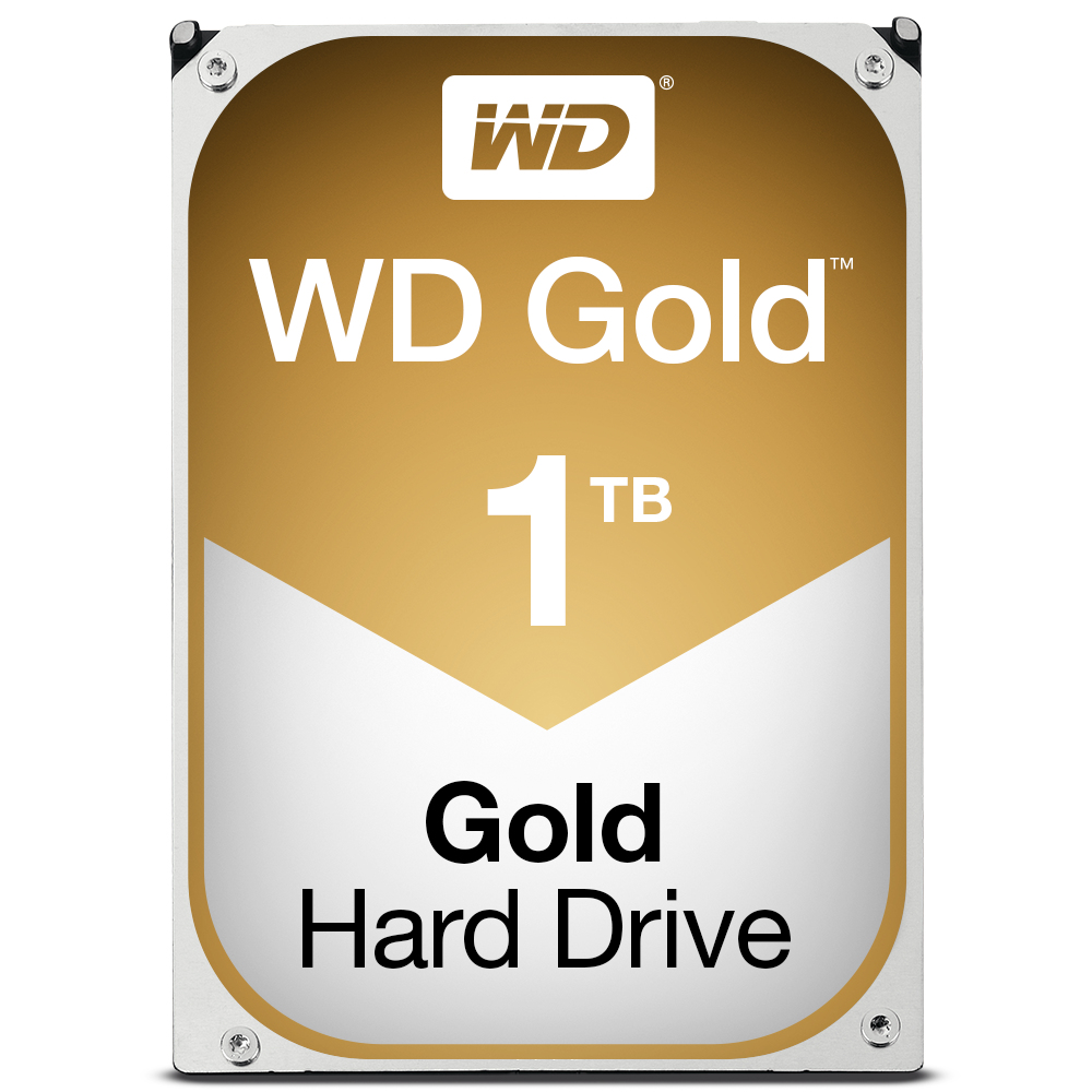 WESTERN DIGITAL GOLD HDD 1000GB SERIAL ATA III INTERNAL HARD DRIVE