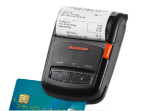 BIXOLON SPP-R210 DIRECT THERMAL MOBILE PRINTER 203 X 203DPI