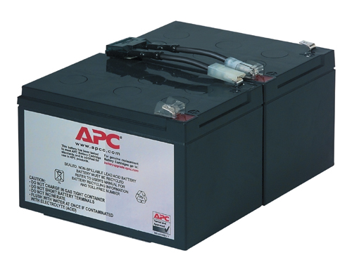 APC REPLACABLE BATTERY SEALED LEAD ACID (VRLA) RECHARGEABLE