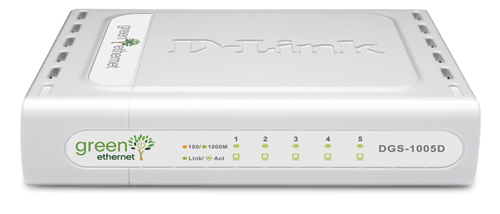 D-LINK 5-PORT 10/100/1000 DESKTOP SWITCH UNMANAGED NETWORK