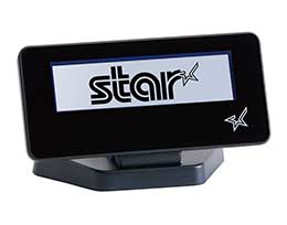 STAR MICRONICS 39990030 BLUE BACK-LIT, LCD DISPLAY, BLACK