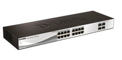 D-LINK DGS-1210-20 MANAGED NETWORK SWITCH L2 1U BLACK