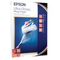 EPSON ULTRA GLOSSY PHOTO PAPER, DIN A4, 300G/M, 15 SHEETS