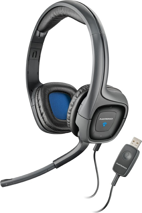 PLANTRONICS 80935-15 AUDIO 655 BLACK HEADSET