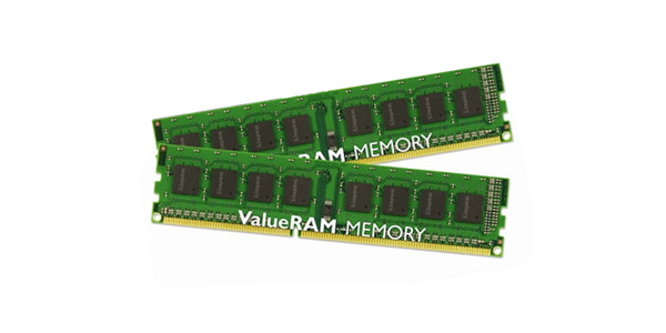 KINGSTON VALUERAM 16GB DDR3 1333MHZ KIT MEMORY MODULE