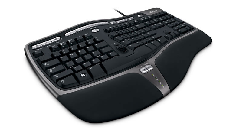 MICROSOFT B2M-00026 NATURAL ERGONOMIC KEYBOARD 4000 USB BLACK