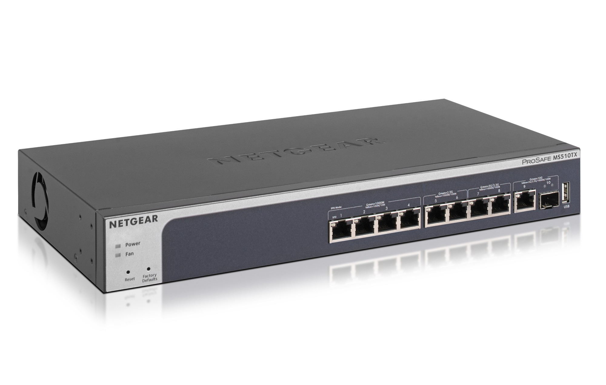NETGEAR MS510TX MANAGED L2/L3/L4 GIGABIT ETHERNET GREY