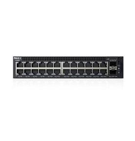 DELL X-SERIES X1026P MANAGED NETWORK SWITCH L2+ GIGABIT ETHERNET POWER OVER (POE) 1U BLACK