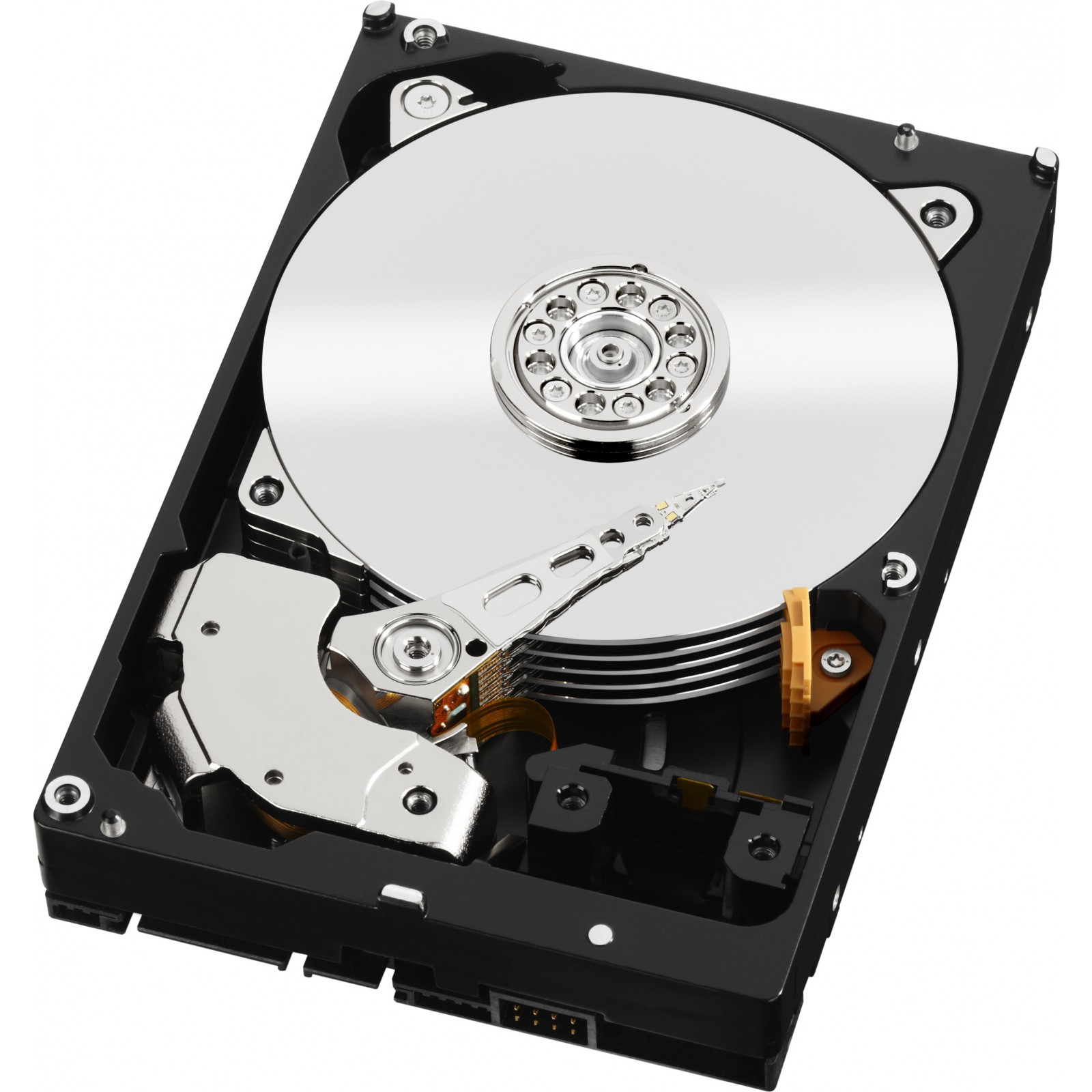 WESTERN DIGITAL RED 2TB 2000GB SERIAL ATA III INTERNAL HARD DRIVE REFURBISHED