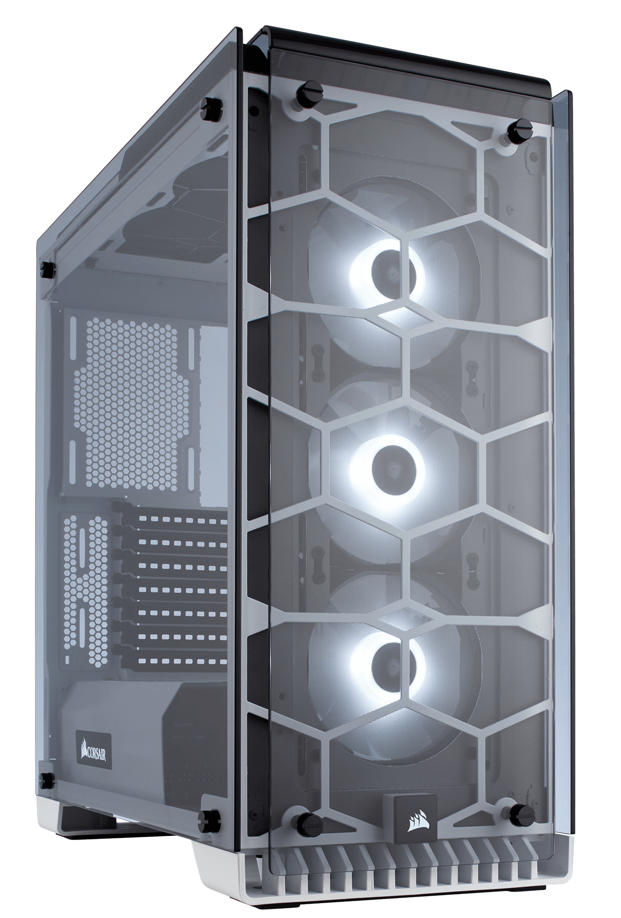 CORSAIR CRYSTAL 570X MIDI-TOWER WHITE COMPUTER CASE