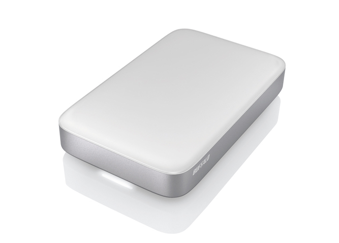 BUFFALO MINISTATION THUNDERBOLT 2.0TB 2000GB SILVER, WHITE EXTERNAL HARD DRIVE
