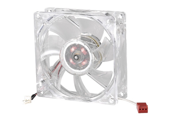 COOLER MASTER LED ON/OFF FAN 80MM COMPUTER CASE