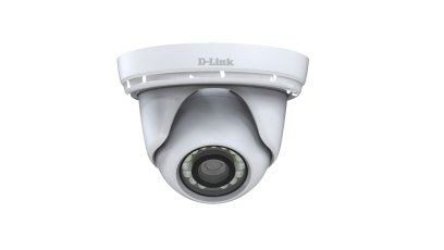 D-LINK DCS-4802E IP SECURITY CAMERA INDOOR & OUTDOOR DOME WHITE 1920 X 1080PIXELS
