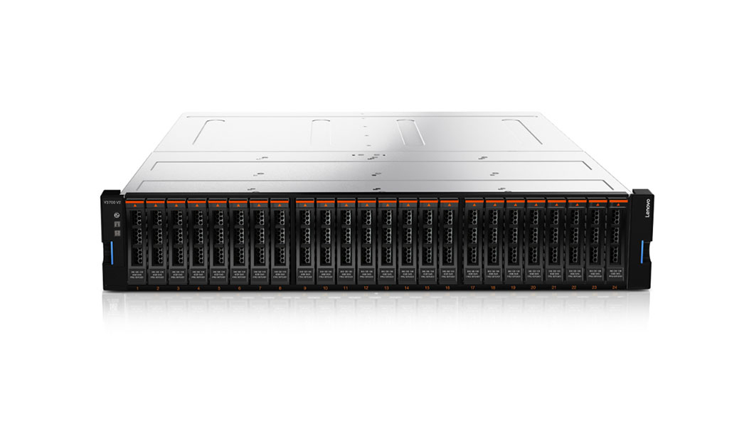 LENOVO 6535EN2 STORAGE V3700 V2 RACK (2U) BLACK, SILVER DISK ARRAY