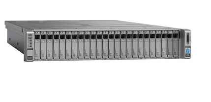 CISCO UCS-SPR-C240M4-BS1 UCS C240 M4 1.7GHZ E5-2603V4 RACK (2U) SERVER
