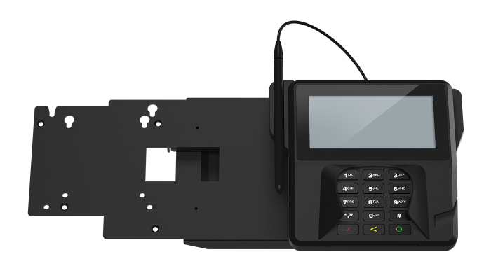 ELO TOUCH SOLUTIONS SOLUTION EMV INDOOR PASSIVE HOLDER BLACK