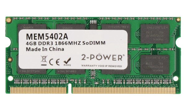 2-POWER MEM5402A 4GB DDR3 1866MHZ SODIMM