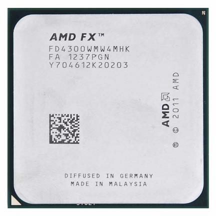 AMD FD4300WMW4MHK FX -4300 3.8GHZ 4MB L2 PROCESSOR