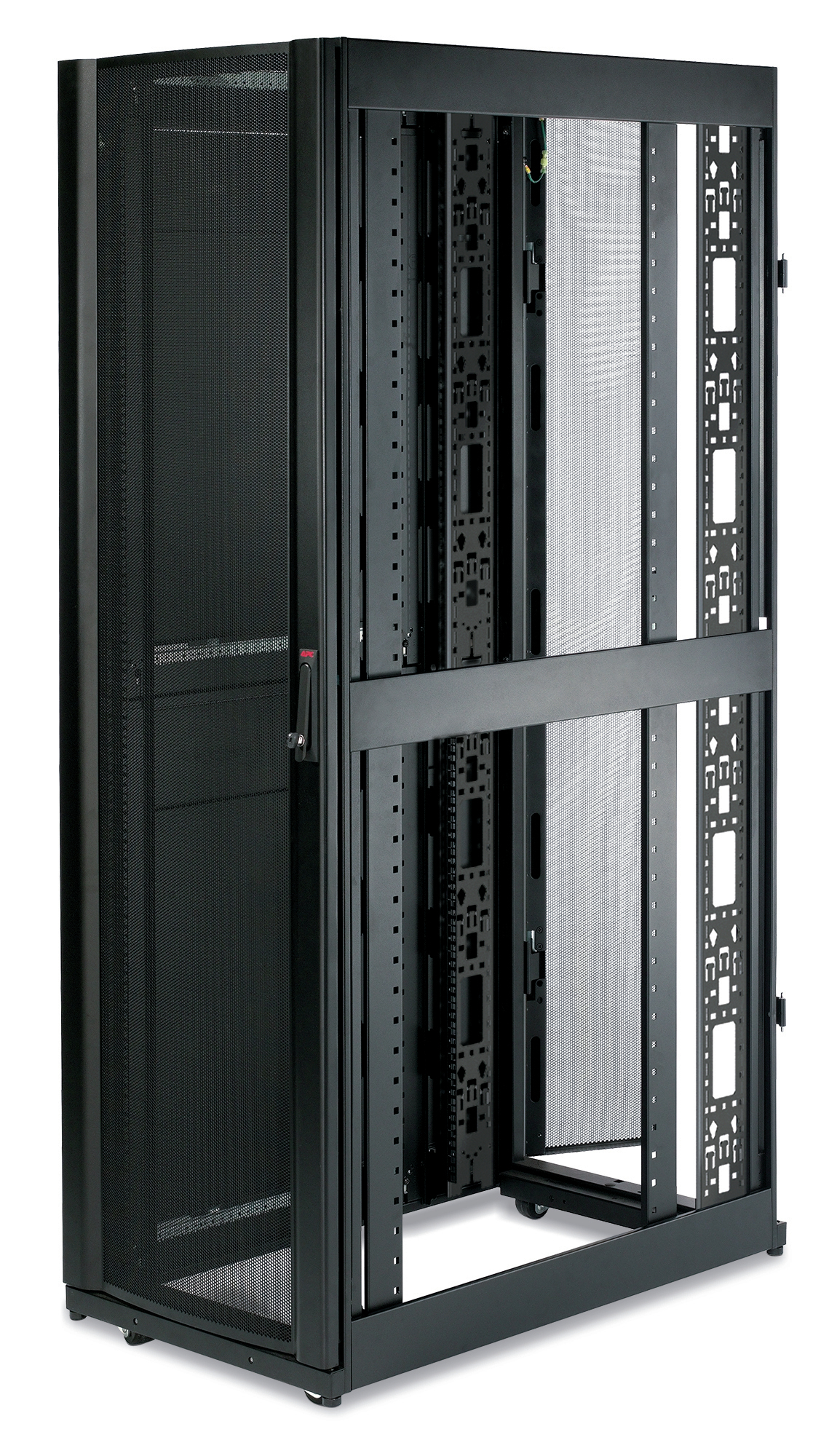 APC NETSHELTER SX 42U 600MM WIDE X 1070MM DEEP ENCLOSURE WITH SIDES BLACK RACK