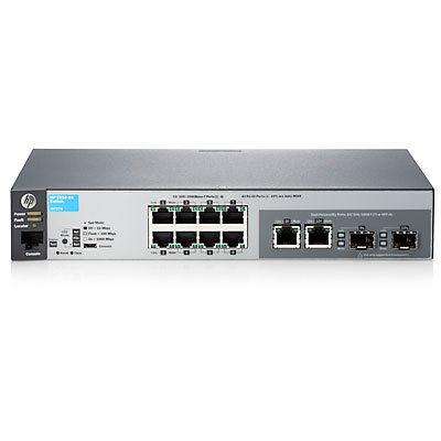 HPE J9777A 2530-8G MANAGED NETWORK SWITCH L2 GIGABIT ETHERNET (10 - 100 1000) 1U GREY
