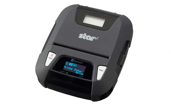 STAR MICRONICS 39633300 DIRECT THERMAL, 80MM WIDE PAPER, 7.4 V, WITH MSR, BLUETOOTH INTERFACE, BLACK