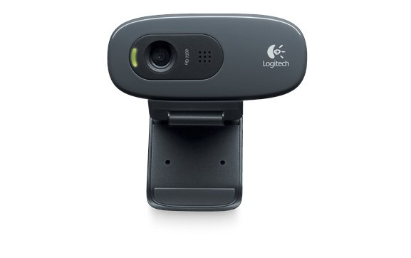 LOGITECH C270 3MP 1280 X 720PIXELS USB BLACK WEBCAM