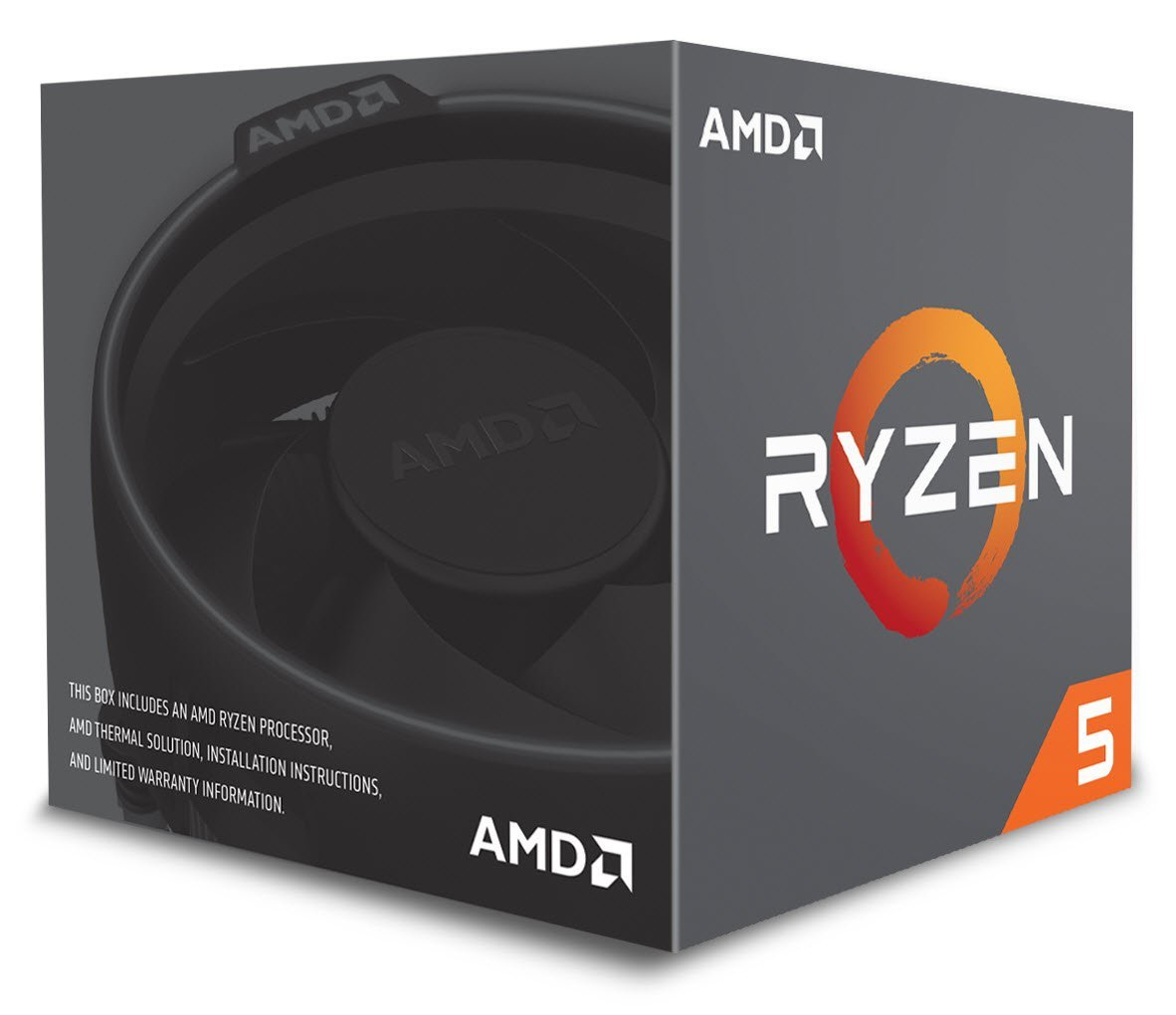 AMD YD2600BBAFBOX RYZEN 5 2600 3.4GHZ 16MB L3 BOX PROCESSOR