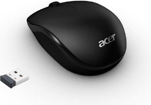 ACER RF2.4 RF WIRELESS OPTICAL 1000DPI AMBIDEXTROUS BLACK,WHITE MICE
