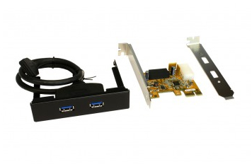 EXSYS EX-11099-2 PCIE USB 3.0 CARD FOR 3.5-INCH FRONT-BAY