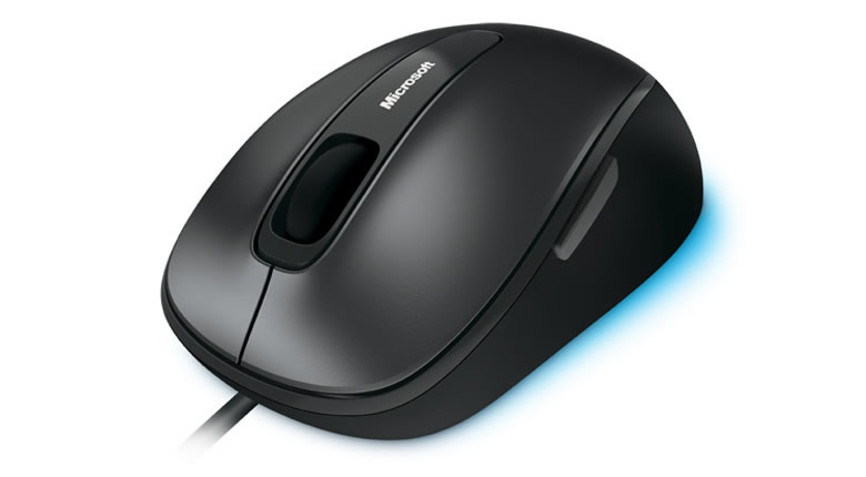 MICROSOFT 4FD-00023 COMFORT MOUSE 4500, LOCHNESS GRAY