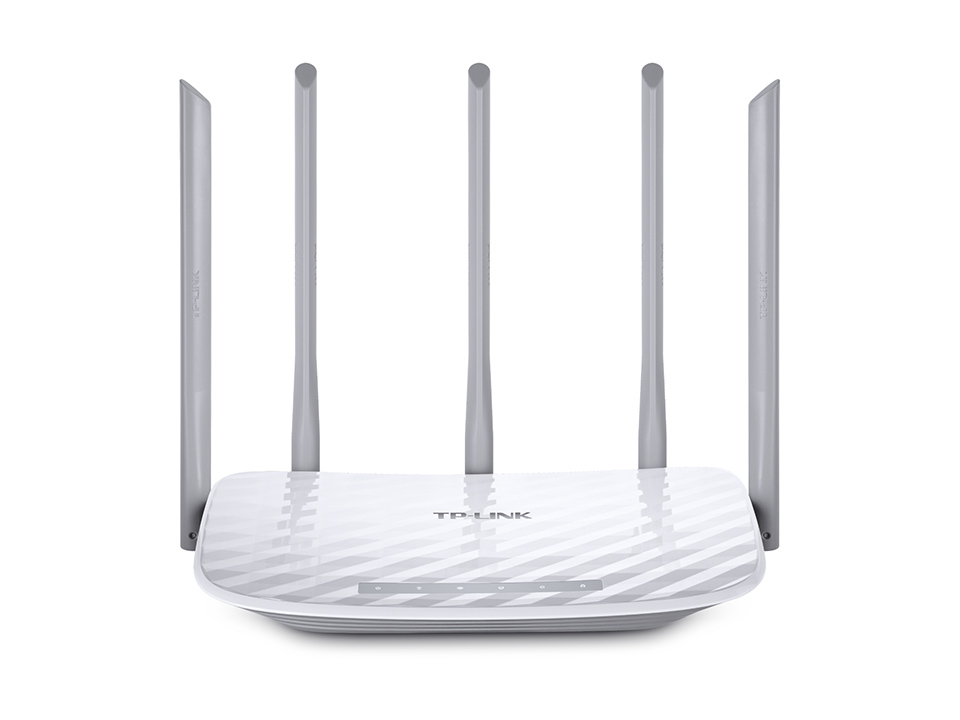 TP-LINK AC 1350 DUAL-BAND (2.4 GHZ / 5 GHZ) FAST ETHERNET WHITE WIRELESS ROUTER