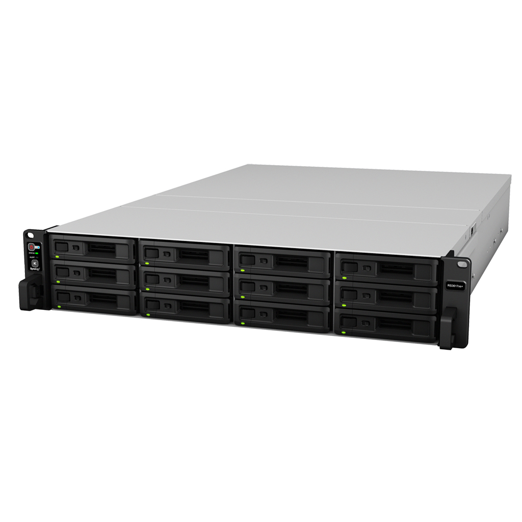 SYNOLOGY RS3617XS+/96TB-GOLD 12 BAY NAS