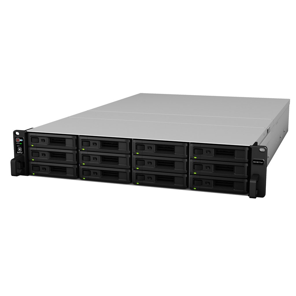 SYNOLOGY RS18017XS+/96TB-REDP RS18017XS+ - 96TB-REDP NETWORK ATTACHED STORAGE (NAS)