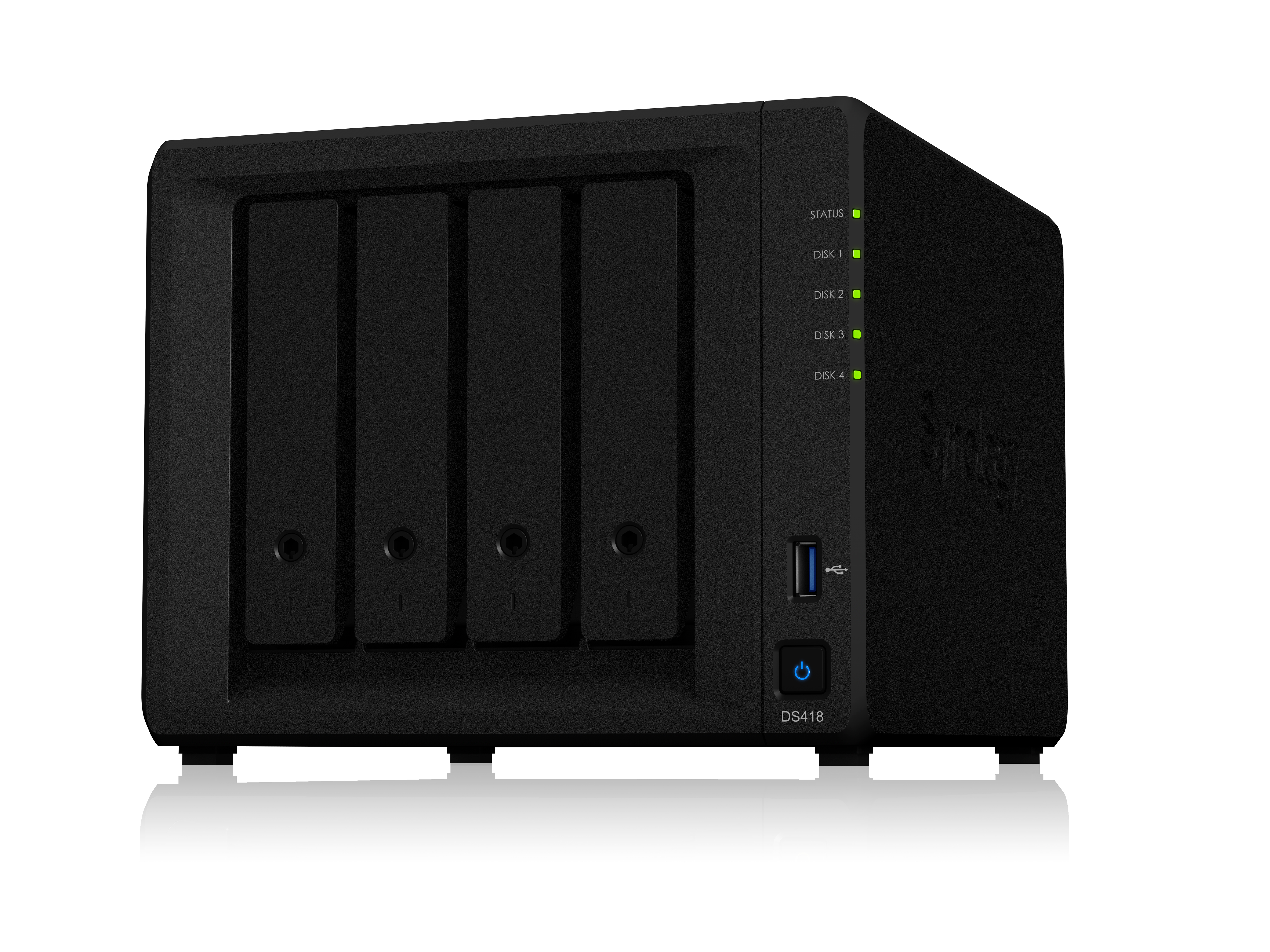 SYNOLOGY DS418/32TB-IW DS418 NAS MINI TOWER ETHERNET LAN BLACK