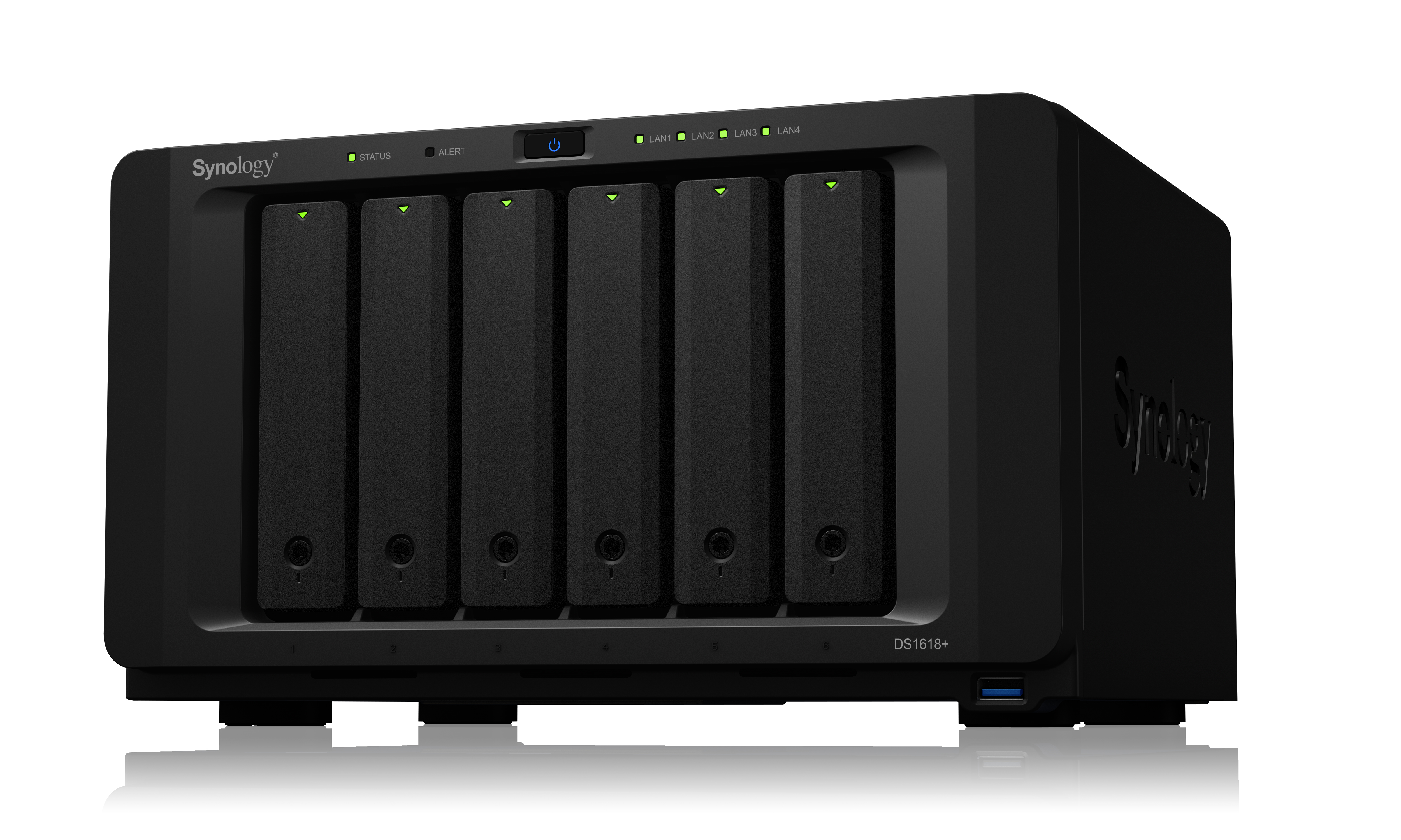 SYNOLOGY DS1618+/24TB-IWPRO DS1618+ - 24TB-IWPRO NETWORK ATTACHED STORAGE (NAS)