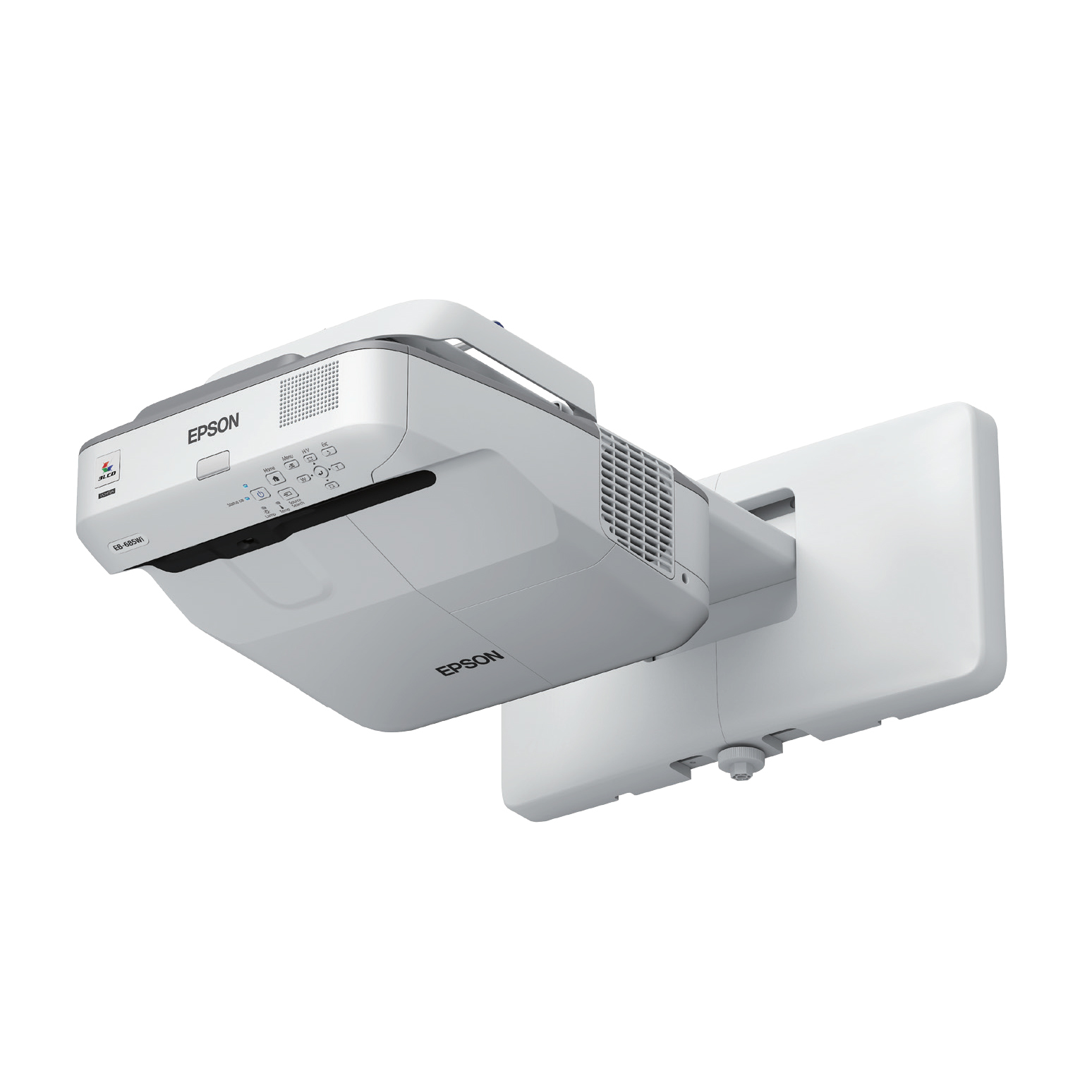 EPSON EB-685WI WALL-MOUNTED PROJECTOR 3500ANSI LUMENS 3LCD WXGA (1280X800) GREY,WHITE DATA